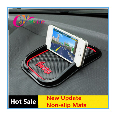 Ford Fiesta Roof Rack >> Update Mobile phone 3D Non-slip pad car anti slip pad mat sticker for Ford Fiesta 2008 2009 2012 ...