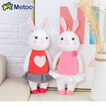 Мягкая плюшевая игрушка кролик Metoo 3