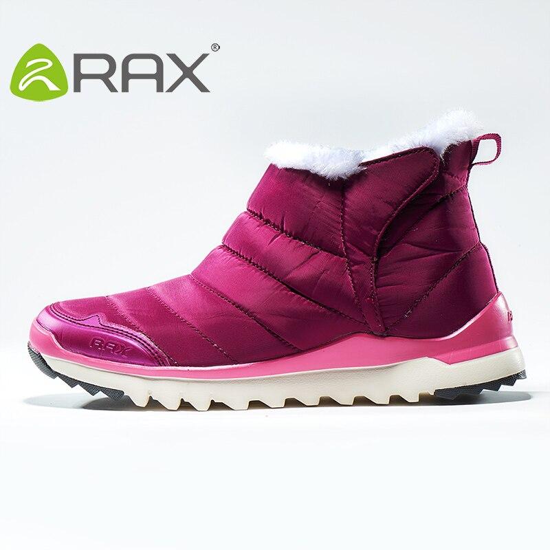 Rax Frauen Turnschuhe Herbst Und Winter Plus Samt Warme Stiefel Schnee Rutschen Weibliche Outdoor Wanderschuhe B2611 Kaufen Sie Immer Gut Turnschuhe