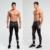 Calças de compressão homens jogger calças exercício da aptidão leggings calças justas