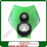 High Qualtiy 12v 40w with LED Vision Headlight for For SX SXF EXC 250 350 450 500 Street Fighter Bike Motocross Enduro Supermoto