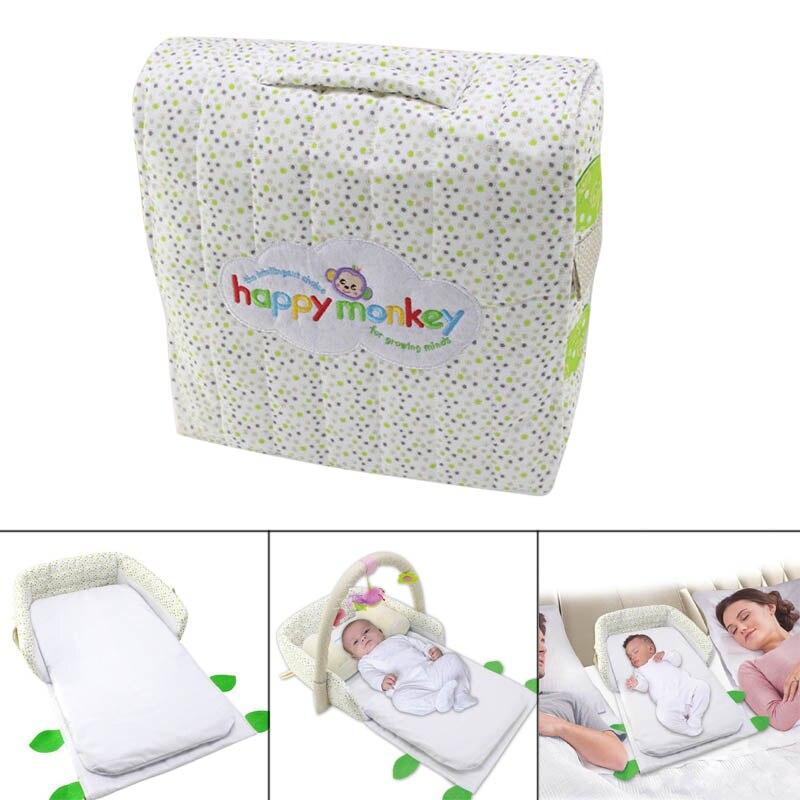 2019 multifonctionnel bébé berceau Portable pliable bébé lit voyage infantile berceau avec Fitness cadre matelas oreiller pour enfant en bas âge