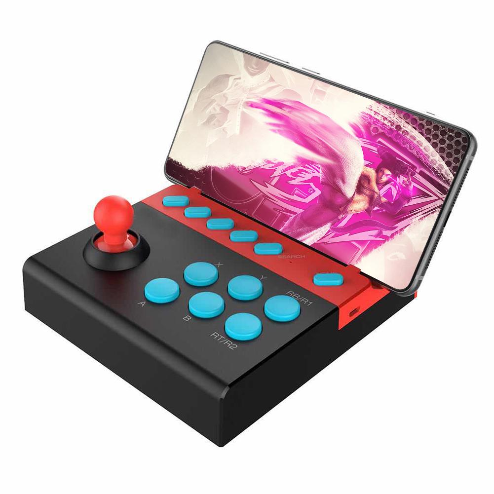 Bluetooth 4.0 Arcade Gamepad Arcade Fighting Joystick Controller Game Controller For Android IOS Mobile Tablet Smart TV PC image