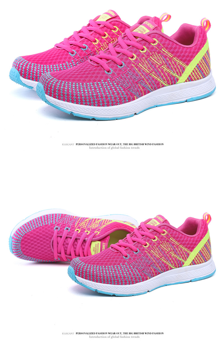 18 Women Breathable mesh Casual shoes Woman Flat platform shoes Air damping fashion zapatillas mujer casual tenis feminino 7