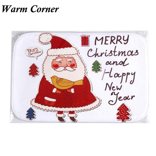 TC0102 New Hot Holiday Welcome Mat Outdoor Indoor Santa Festive Christmas Decor Doormat Anti-Slip  sc 1 st  AliExpress.com & TC0102 New Hot Holiday Welcome Mat Outdoor Indoor Santa Festive ...