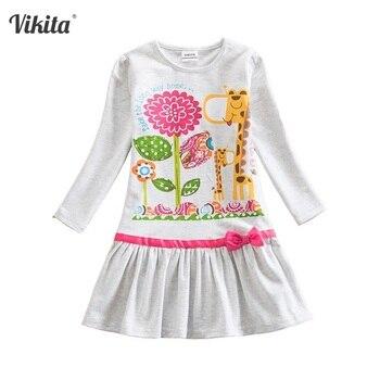 27031cbd09e Product Offer. VIKITA Платья с цветочным рисунком для девочек детское  хлопковое платье осенне-зимнее ...
