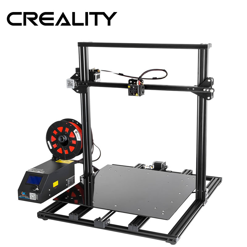 CREALITY 3D CR-10S CR-10 S4 CR-10 S5 CR-10 Pilihan, Dua Z Rod FilamentDetect Resume Power Off Pilihan 3D Printer DIY Kit