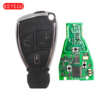 Keyecu New Replacement Smart Remote Car Key Fob 3 Button 315/433MHz NEC Chip for Mercedes Benz 2000 2001 2002 2003 2004 2014