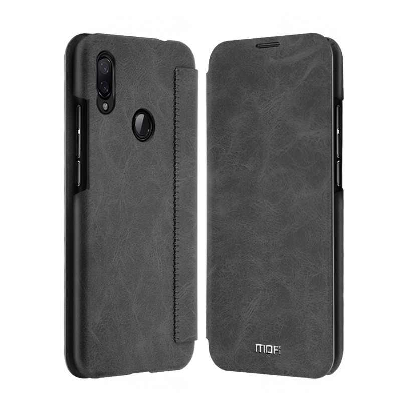 Redmi Note 7 Pro Case Flip Case Mofi For Xiaomi Redmi Note 7 Leather Cover Card Wallet Wallet Case Card Slot Smooth Hand Feeling