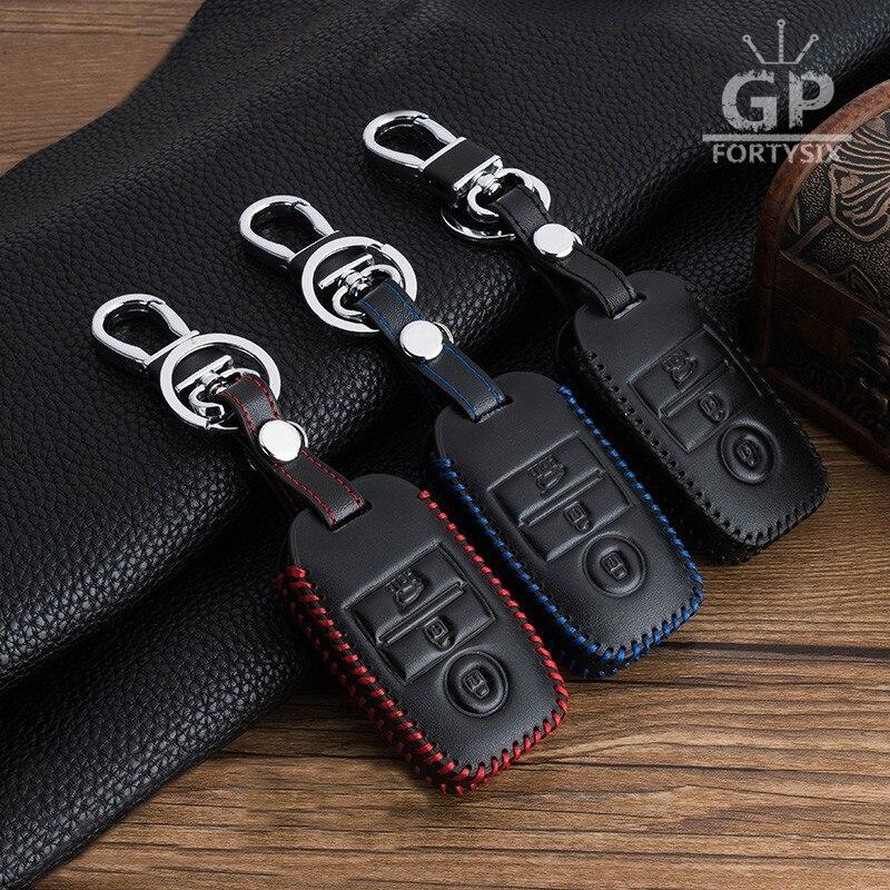 2017 Fashion Car Key Smart Case Cover Bag Keychain For Kia Rio K2 Ceed Sportage Soul