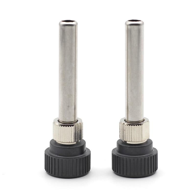 2Pcs Soldering Station Iron Handle Adapter Bushing For 852D 936 937D 898D 907 938 ESD Iron Head Cannula Iron Tip Bushing