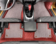 Car Styling!!Only For Left Hand Drive!Waterproof Leather Floor Carpets Foot Mats For Nissan Qashqai 2014 2015 2016