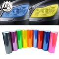LA racing-30cmx100cm Car-Styling car headlights taillights lights tint protective vinyl film stickers changing color