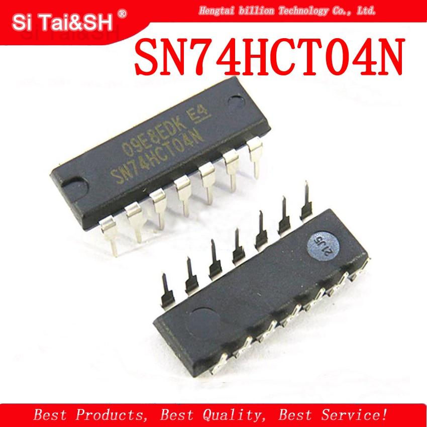 1PCS/lot Hex Inverter SN74HCT04N 74HCT04 DIP14  Original Product