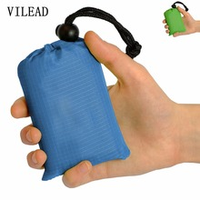 VILEAD 8 Color 140*152cm Portable Outdoor Camping Nylon Pocket Picnic Mat Waterproof and Convenient Beach Moisture-Proof