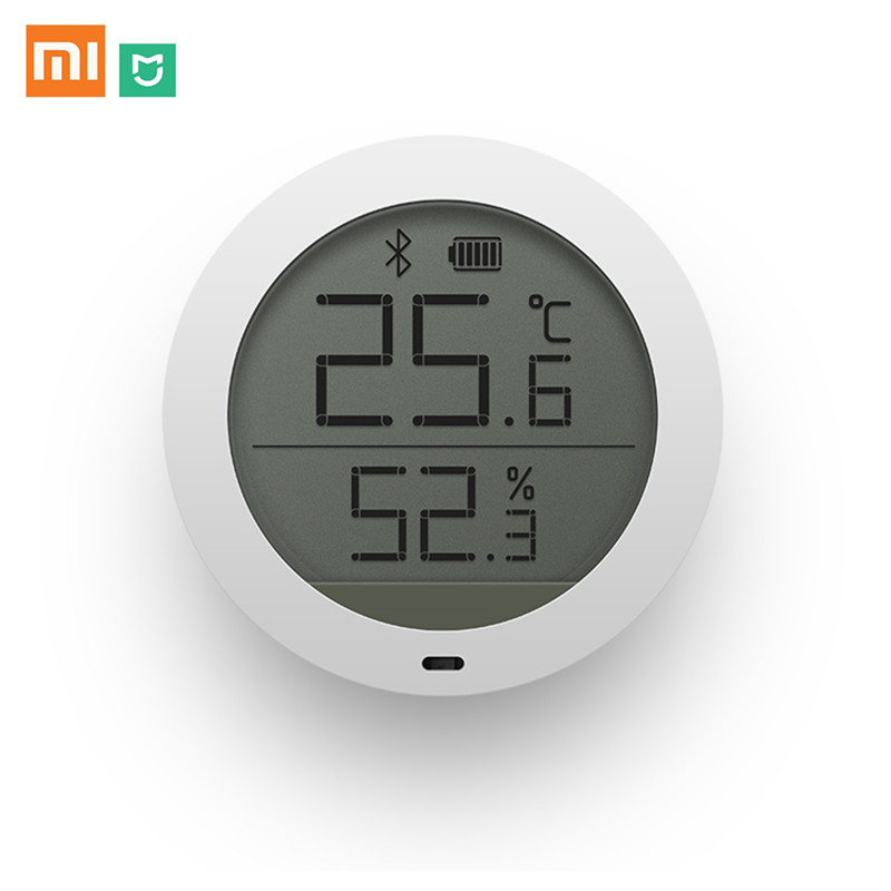 Xiaomi Mijia Home Bluetooth Temperature Smart Humidity Sensor LCD Screen Temperature Humidity Sensorm Mi APP