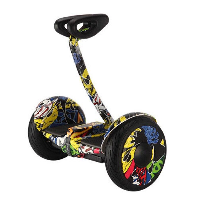 Auto-équilibrage scooter Bluetooth mobile équilibrage Scooter électrique intelligent hoverboard deux roues commande de téléphone Mini vol stationnaire - 4