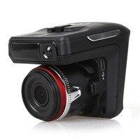 2 In 1 Car DVR Radar Detector GPS Car Detector Camera HD 1280P Speedcam Anti Radar