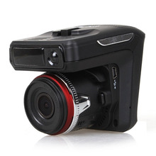 2 in 1 Car DVR Radar Detector GPS Car-detector Camera HD 1280P Speedcam Anti Radar Detectors Dash Cam Russia + English Language