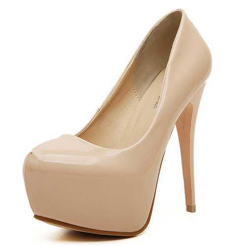 Aliexpress.com : Buy Nude Pumps Ultra High Heels 14cm Women&39s