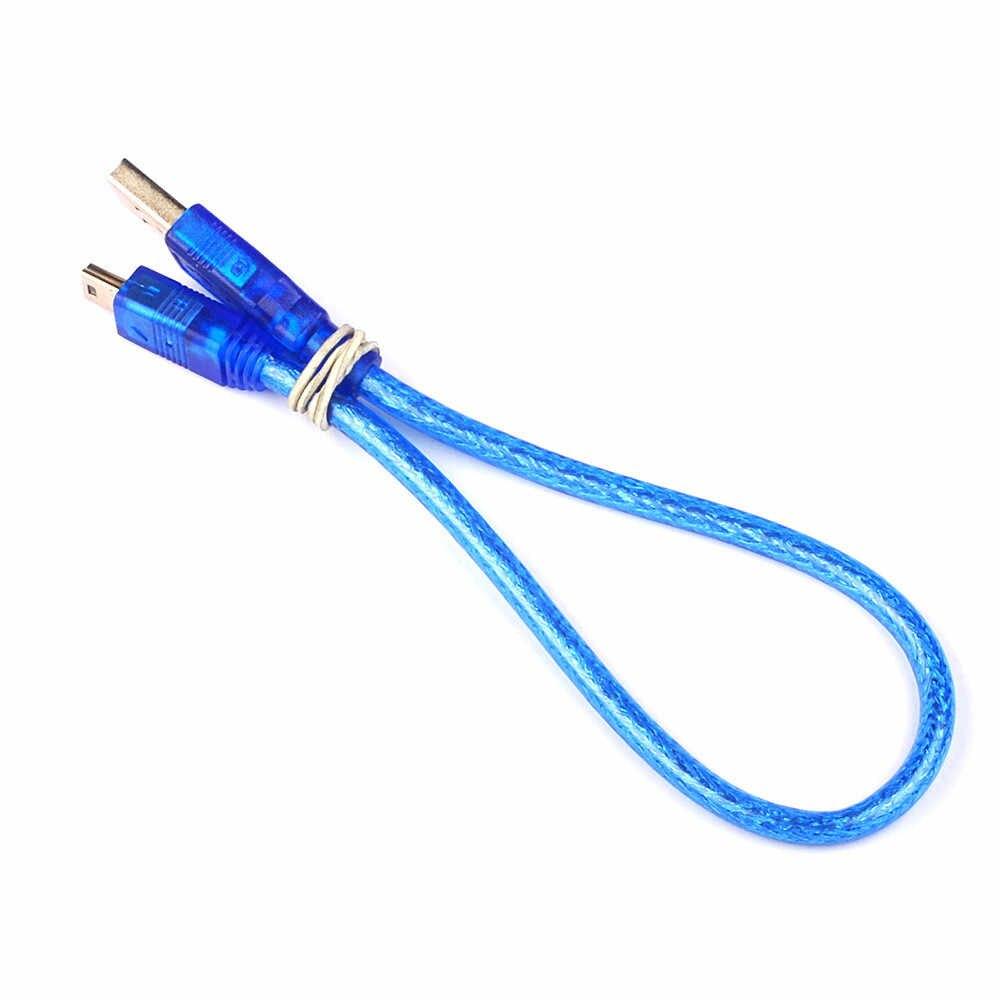 30 Cm Uzun USB 2.0 Şarj Kablosu Cep Telefonu Ekipmanları Veri Hattı Şarj Hattı Fiş Mini Fiş şarj aleti kablosu JQ0329