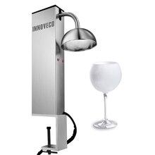 CO2 стеклянный охладитель бар стеклянный холодильник
