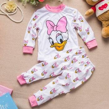 Children Clothes 2017 Winter baby Girls boys Clothes Set cottot T-shirt+Pants newborn suit Kids Girl Clothing Set 4