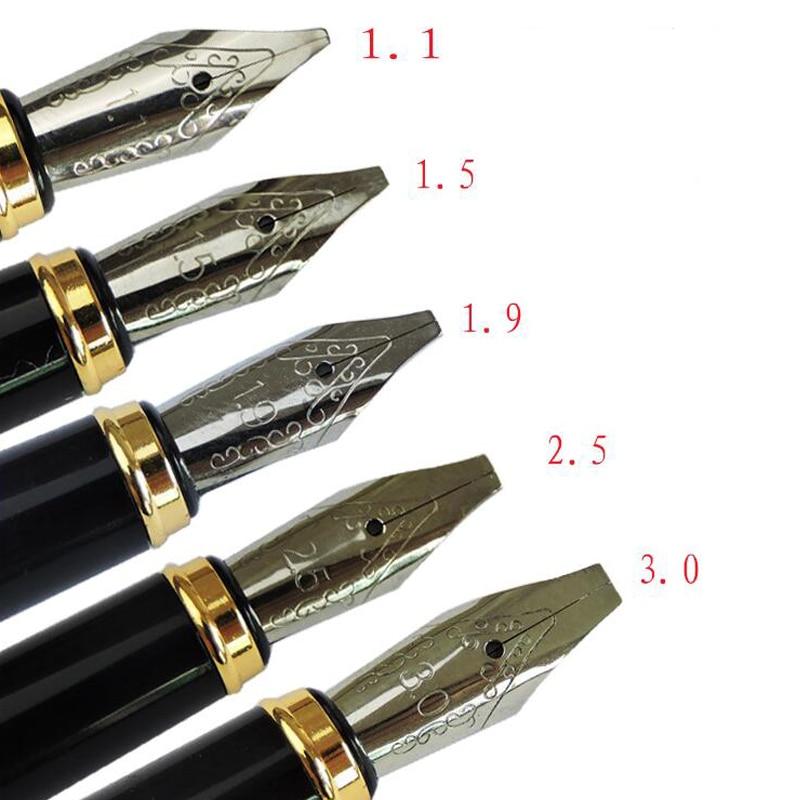 Parallel Art Fountain Pen Arabic Calligraphy Pen Writable Tibetan Arabic Uighur Roman Text 5 Sizes Available