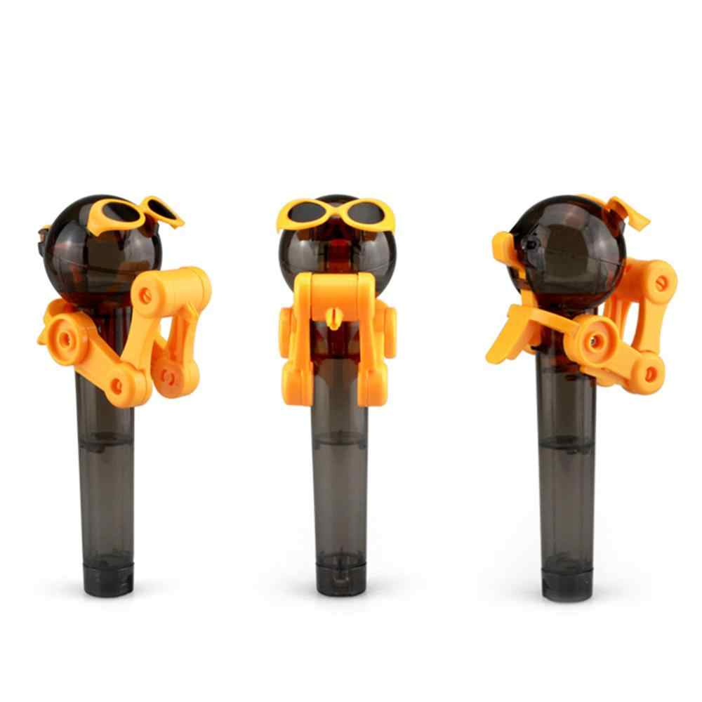 2018 Newest Creative Personality Toys Lollipop Holder Decompression Toys Lollipop Robot decompression candy dustproof toy gift