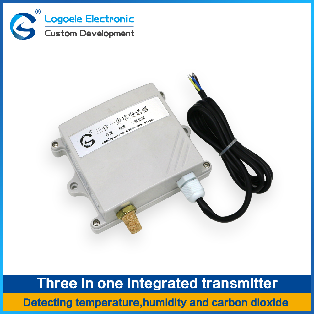 High quality Temperature and humidity, CO2 transmitter sensor Three in one sensor controller 485 output [sa] rs485 network based temperature and humidity transmitter temperature and humidity sensors replacing genuine original e