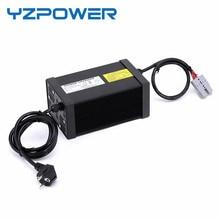 YZPOWER 50.4 V 14A 12A 13A 15A Bateria De Lítio Inteligente Carregador fonte de Alimentação para 44.4 V de Iões de lítio Da Bateria Ebike Chargeur Pilha