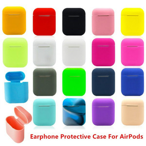Image 5 - case for airpods dust guard accessories silicone case for iphone airpods clean/skin TPU 17 colors airpods headphones wireless