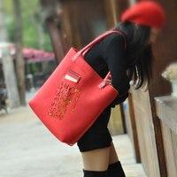 2087 Brand Large Felt Shopping Bag Felt