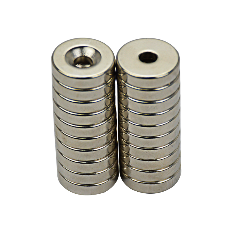 20pcs neodymium magnet 15*3m hole 3mm Strong Ring MagnetS D Countersunk Rare Earth Permanent new arrival neodymium magnet imanes n35 25x10x3mm strong ring countersunk rare earth new arrival 2015 women jackets coats