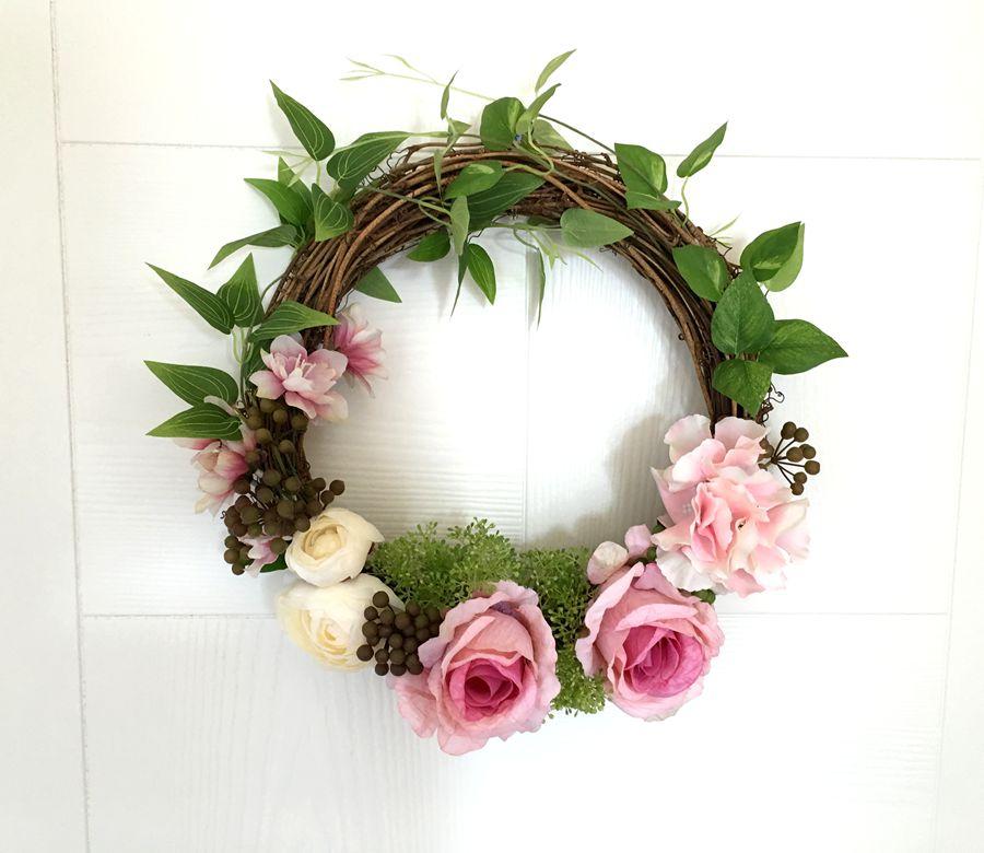 Department Door Decorative Wreaths Mirror Flower Wall Garland Home ...