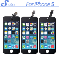 30PCS LOT SALE for iPhone 5 5S 5C LCD Touch Screen Display Digitizer Replacement Assembly Mobile Phone Parts with Tools
