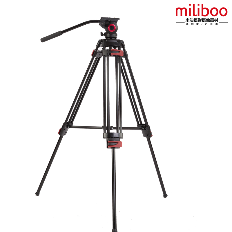 miliboo MTT602A Professional Tripod Stand for Camera,with Hydraulic Head Ball Kit in Stable Design for Digital DSLR