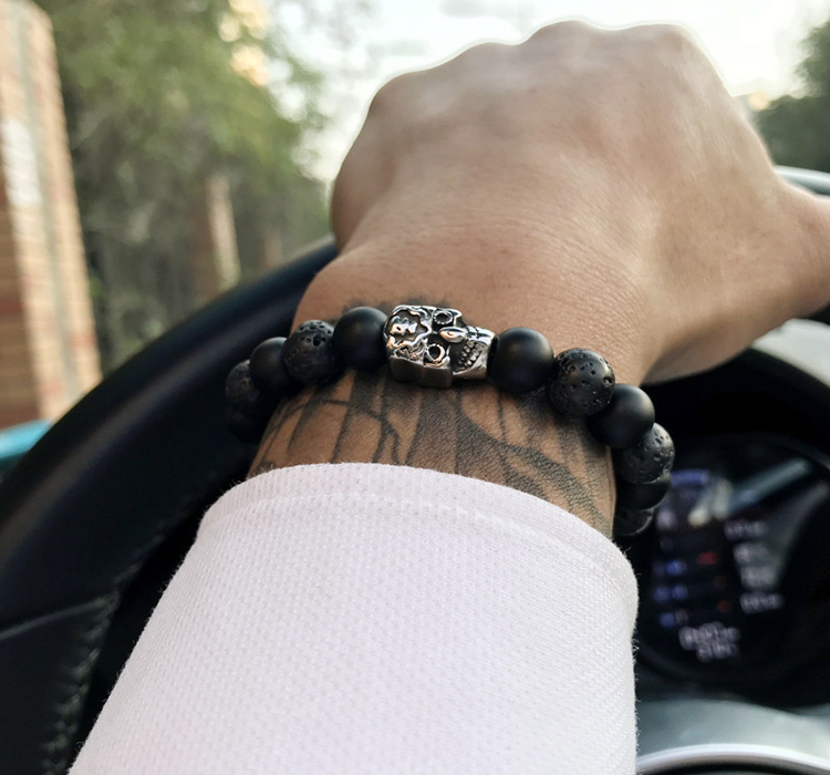 HTB1fJ8TaizxK1RjSspjq6AS.pXaZ - Skull&Bones Luxury Bracelet