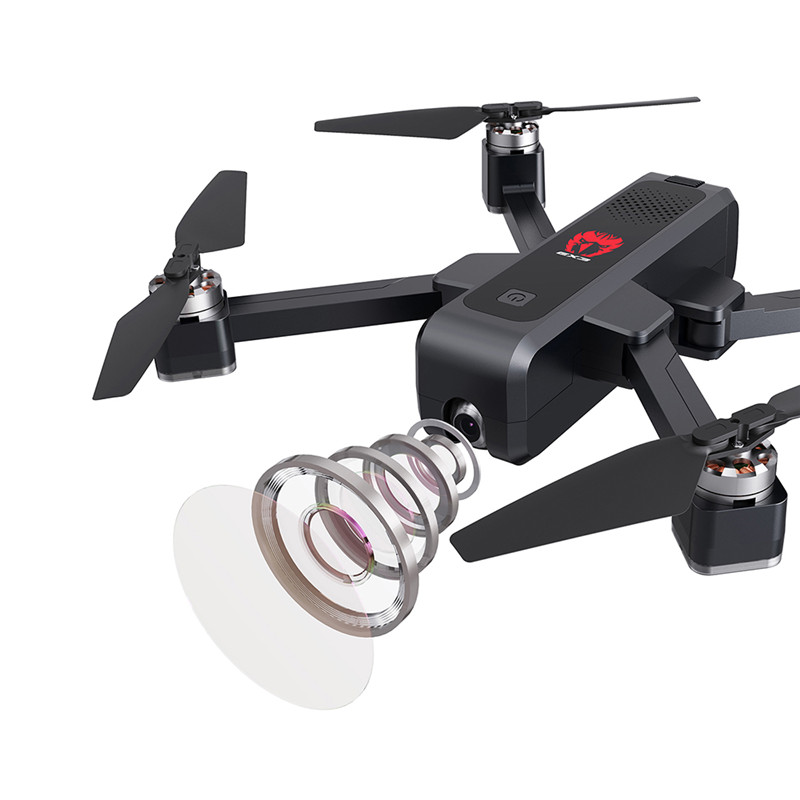 Eachine EX3 GPS 5G WiFi FPV 2K Camera Optical Flow OLED Switchable Remote Brushless Foldable RC Drone Quadcopter RTF 1