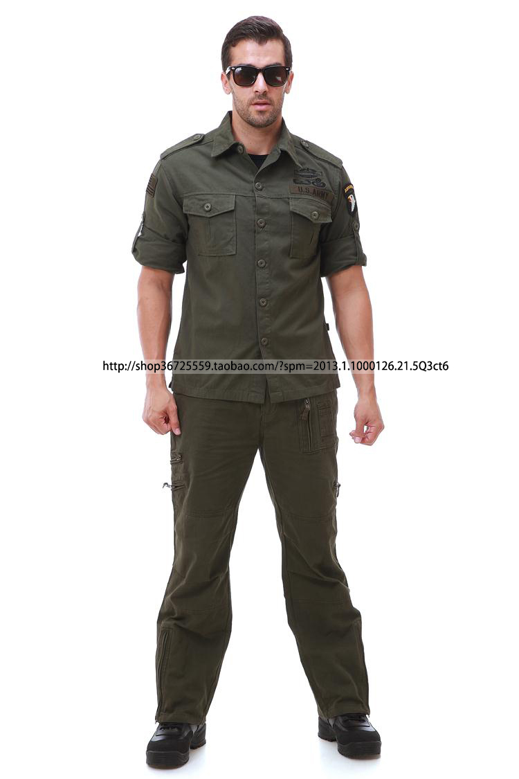 ФОТО us army military uniform for men military outdoors Airborne Division suit army uniform jacket and pants XS-XXL