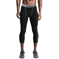 MEN tight pants pro compression pants Elastic quick-drying fitness pants