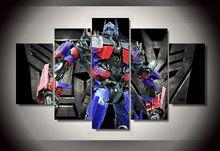 Gerahmte Gedruckt Optimus Prime Transformatoren bild Malerei wandkunst raumdekor poster drucken bild leinwand Freies verschiffen/1314