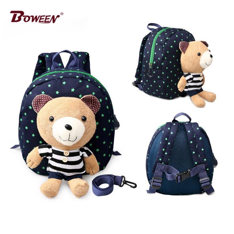 Kids Backpack Girls School Bags Cute Animal Plush Toys Baby Girls Children Kindergarten Bag Boys Toddler Children Schoolbags