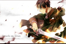 Attack on Titan Poster Wall Stickers Mural Bedroom Decoration #130#