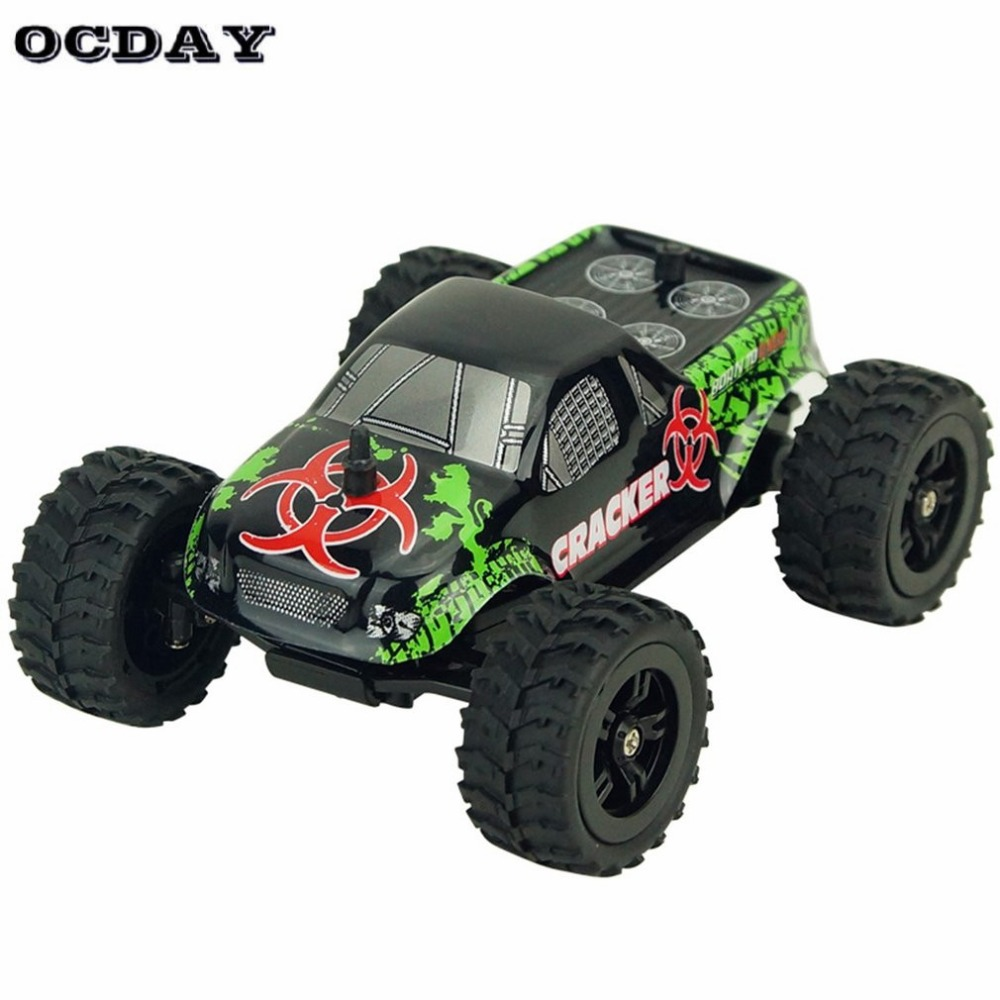 1:32 Full Scale 4CH 2WD 2.4GHz Mini Off-Road RC Racing Car Truck Vehicle High Speed 20km/h Remote Toy For Kids Hi