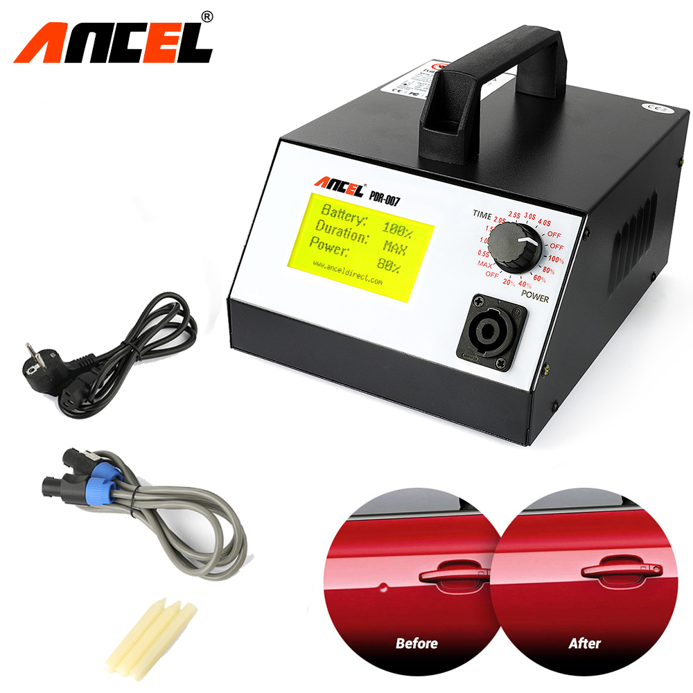 Ancel PDR Hotbox Car Body Paint Dent Repair Tool Induction Heater for Removing Dents Set Garage