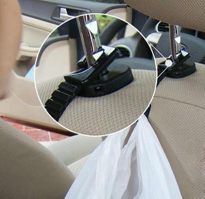 2017 AUTO bugiganga Assento de Carro Gancho carro Cabide clips Saco de Compras óculos Titular clipes de Titular De Armazenamento para carros carro- styling Au 03