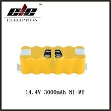Ni-mh para Irobot Aspirador de PÓ Eleoption 14.4 V 3000 Mah Roomba Bateria Recarregável de Substituição para 500 550 560 780