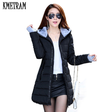 wadded jacket   women's winter jacket down cotton jacket slim parkas ladies coat  s-xxxl tp0514