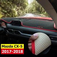 Car Dashboard Avoid Light Pad Instrument Platform Desk Cover Mats Carpets LHD For MAZDA CX 5